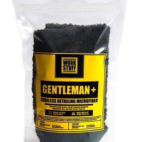 Gentleman + Edgeless Microfiber 600gs 40x40